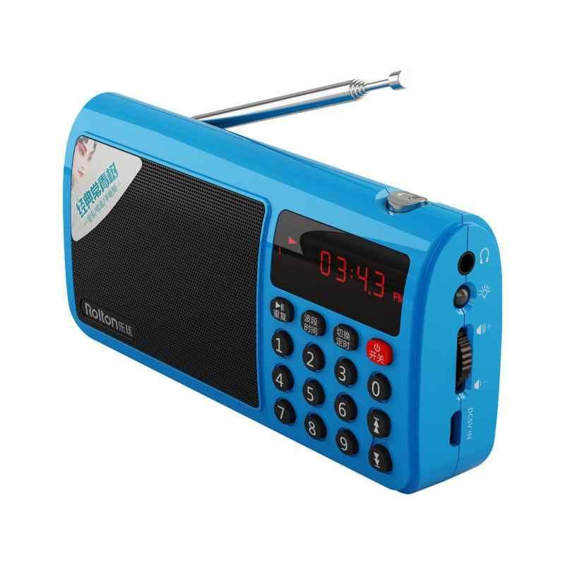 HobbyLane FM/MW/SW ラジオ Rolton T50 ポータブル世界バンドステレオラジオスピーカー MP3 音楽プレーヤー SD/ TF カード pc ipod 電話 r60