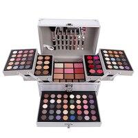 TSMC Makeup Set Box Professional Makeup Full Suitcase Makeup Kit Lipstick Makeup Brushes Set Of Cosmetic For Makeup Eyeshadow