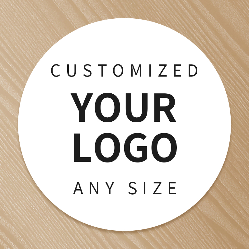 Custom Printing Personalized Logo Label Stickers PVC Vinyl Paper PET PP Kraft Paper Seal Adhesive Sticker Labels Wedding Brand