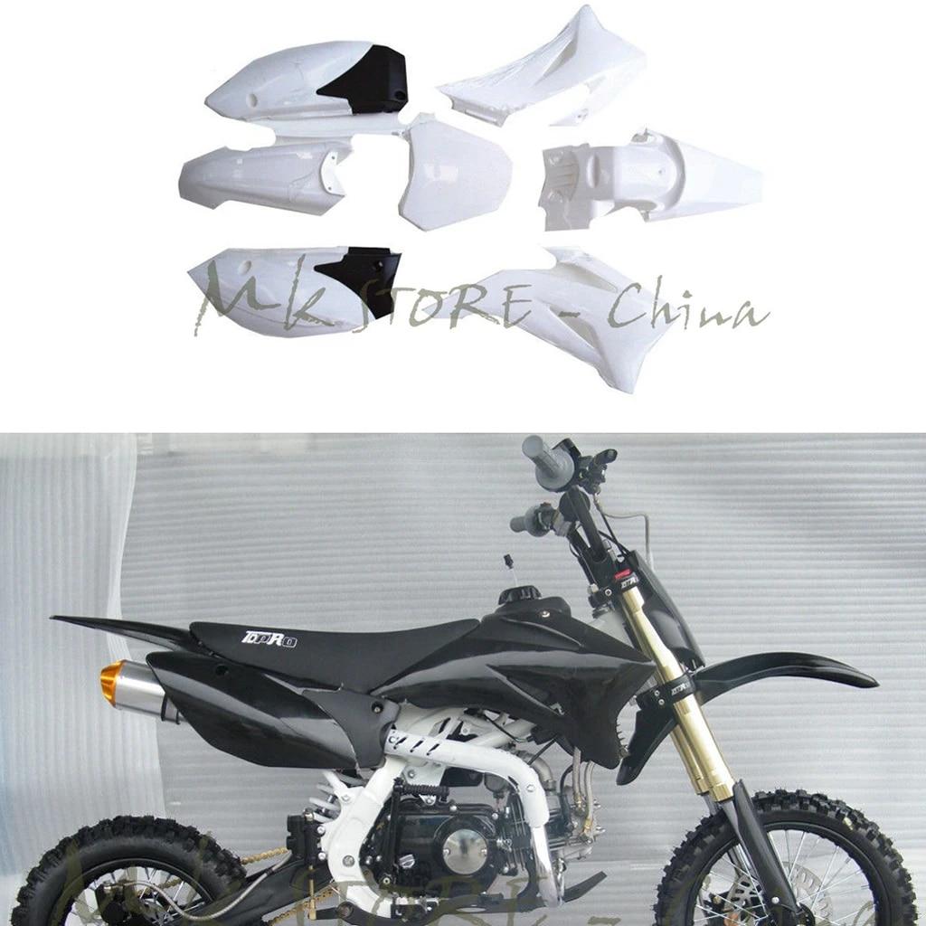 plastics side cover fairing body kits for yamaha ttr110 ttr 110 dirt pit bike 140cc