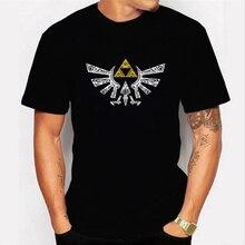 The Legend of Zelda Tshirt Game Prints T Shirt Casual White Black T-shirt Summer Fashion Tops Tees Shirts for Men Clothing
