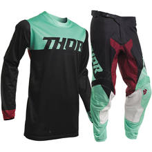 2019 Spring Motocross Jersey set Pink Dirt Bike Gear Set Top Quality MX Jersey And Pant(China)