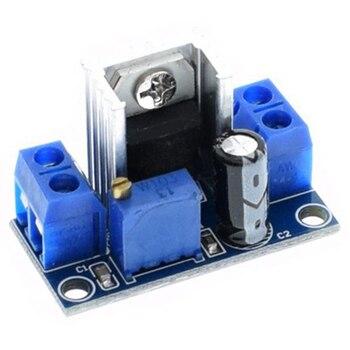 100PC LM317 Adjustable Voltage Regulator Power Supply LM317 DC-DC Converter Buck Step Down Circuit Board Module Linear Regulator