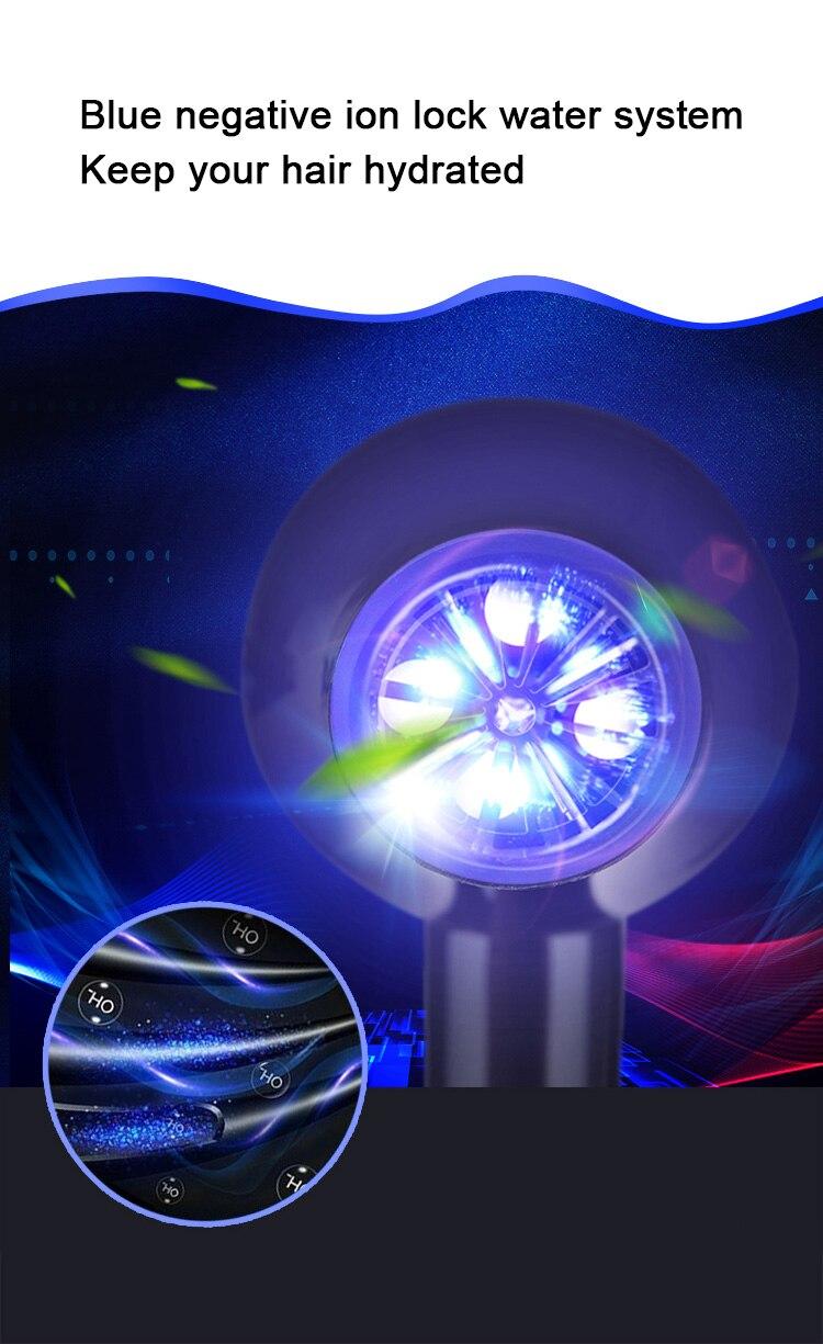 cabelo ac motor elétrico ventilador profissional cabeleireiro