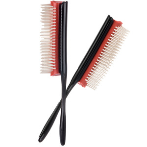 Image 3 - Hair Styling Brush Wheat Straw Detangle Hairbrush Salon Hairdressing Straight Curly Hair Comb Tangle Hair Brush