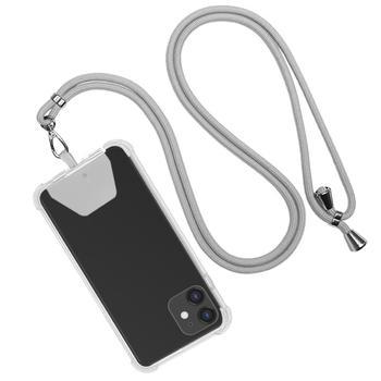 Odpinany nylonowy smycz na szyję smycz na telefon komórkowy breloczek na szyję brelok na szyję Anti-lost odznaki telefon komórkowy liny na szyję tanie i dobre opinie DigRepair CN (pochodzenie) Phone Lanyard Polyester Universal Phone Lanyard Mobile Phone Straps Mobile Phone Accessories