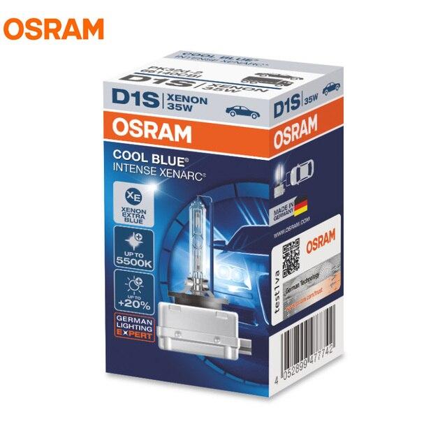 OSRAM 66140CBI 66240CBI 66340CBI 66440CBI D1S D2S D3S D4S 12 в 35 Вт холодный синий интенсивный 5500K ксеноновая лампа для автомобильных фар, 1X