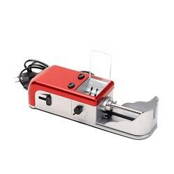 Gorąca xd elektryczna maszynka do papierosów ręczna rolka papierosowa automatyczna maszyna do papierosów napełniarka tytoniu do rolowania papierosów w Akcesoria do papierosów od Dom i ogród na
