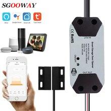 Tuya Smart Wifi Garagedeuropener/Gesloten Compatibel Met Alexa Googel Thuis Slimme Leven