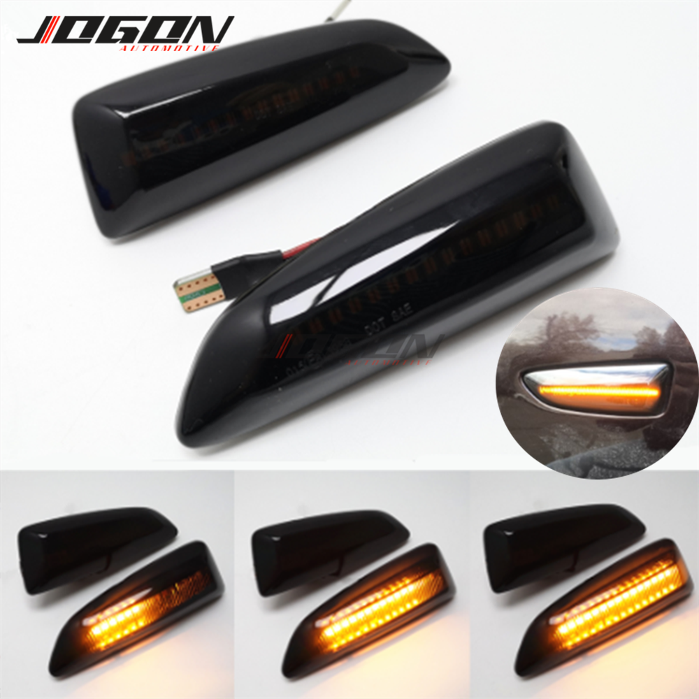 Dynamic <font><b>LED</b></font> Turn Signal Light Side Marker Blinker Lamp For Opel For Vauxhall <font><b>Astra</b></font> <font><b>J</b></font> K Crossland X Grandland Insignia B Zafira C image