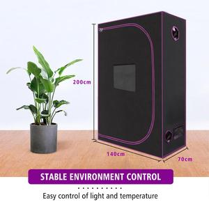 Image 3 - 2.3x4.6 70x140x200 cm Grow Tent Spider Farmer Indoor Hydroponic Home Box Plant Garden For Reflective Aluminum Oxford Cloth