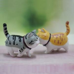 9pcs/lot Mini Cat Car Dashboar
