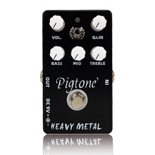 Pigtone PP-10  heavy metal  Guitar effect pedal acoustic electric guitar accessories effects pedals Real bypas diy mod lovepedal dragon fuzz pedal electric guitar stomp box effects amplifier amp acoustic bass accessories effectors