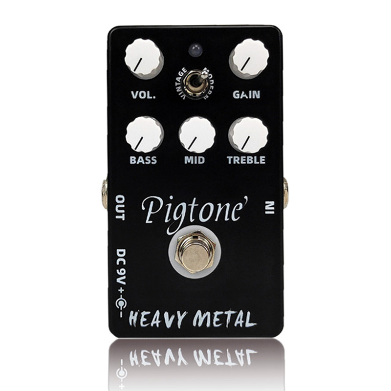 Pigtone PP-10 heavy metal Guitar effect pedal acoustic electric guitar accessories effects pedals Real bypas title=