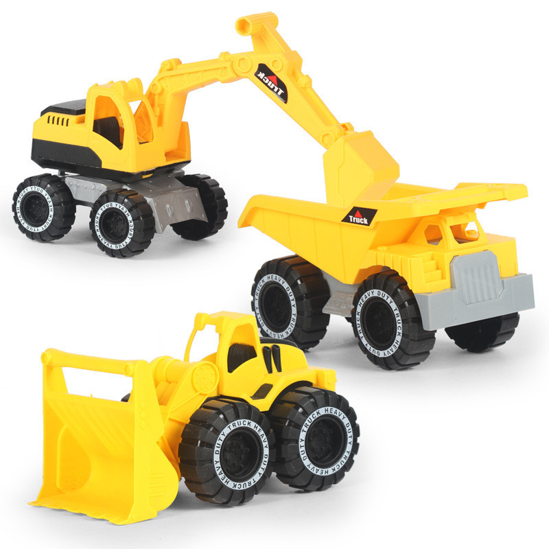 Simulation Inertia Construction Vehicle Diecasts Modle Toys Excavator Bulldozer Truck Modle Car For Children Christmas Toy Gifts
