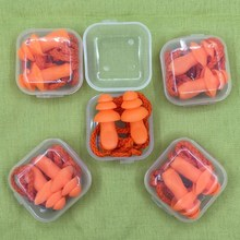 беруши fashy silicon ear plugs for self forming 1pc Soft Silicone Ear Plugs Sound Insulation Ear Protection Earplugs Anti Noise Snoring Sleeping Plugs For Travel Noise