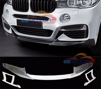 UNPAINTED Front Lip Spoiler For BMW F16 X6 M-Sport Model B269F image