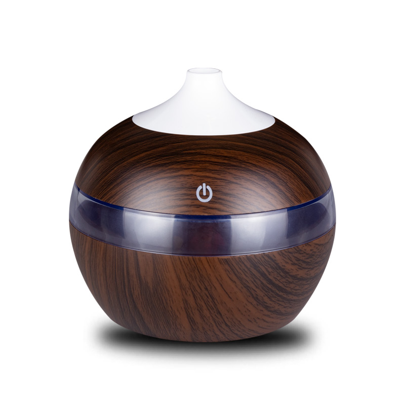 300ml Mini USB Aroma Diffuser Air Purifier Essential Oil Humidifier Mist Maker  Aromatherapy Diffuser With LED Lamp For Home