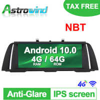 """10.25"""" 8 CORE 4G RAM Android 10.0 Car GPS Navigation Media Stereo player For BMW 5 Series F10 F11 2013 2014 2015 2016 2017 NBT"""