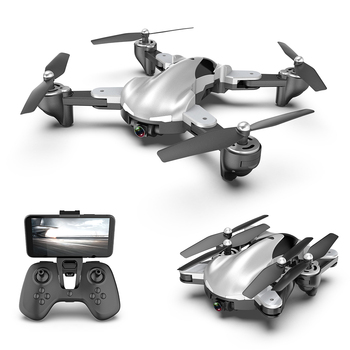 RC Helicopter Drone 4K HD Aerial Camera Quadcopter Optical Flow Positioning RC Drone Dual Camera WIFI FPV Headless Mode Dron