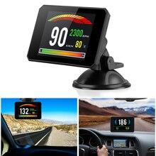 P16 5.8 TFT OBD Hud Head Up Display Digital Car Speed Projector On-Board Computer OBD2 Speedometer Windshield Projector 5
