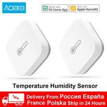Xiaomi Aqara-Sensor inteligente de temperatura, ambiente, humedad y presión del aire, WIFI Zigbee, inalámbrico, Control remoto para Mihome