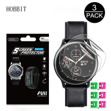 3Pack עבור סמסונג גלקסי שעון Active2 40mm/44mm חכם שעון 5H TPU ננו אנטי הלם בחדות גבוהה מגן מסך ברור סרט