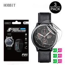 3Pack Für Samsung Galaxy Uhr Active2 40mm/44mm Smart Uhr 5H TPU Nano Anti schock High Definition Screen Protector Klar Film