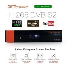GTMedia V8 Nova Support HDMI Satellite Receiver Home Cinema Smart TV Box Build in WIFI CCCAM LIVE freeset v8
