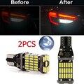 2 шт., Автомобильные светодиодные лампы Canbus T15 для BMW X1 F48 X3 F25 X4 F26 X5 F15 X6 F16 X3 G01