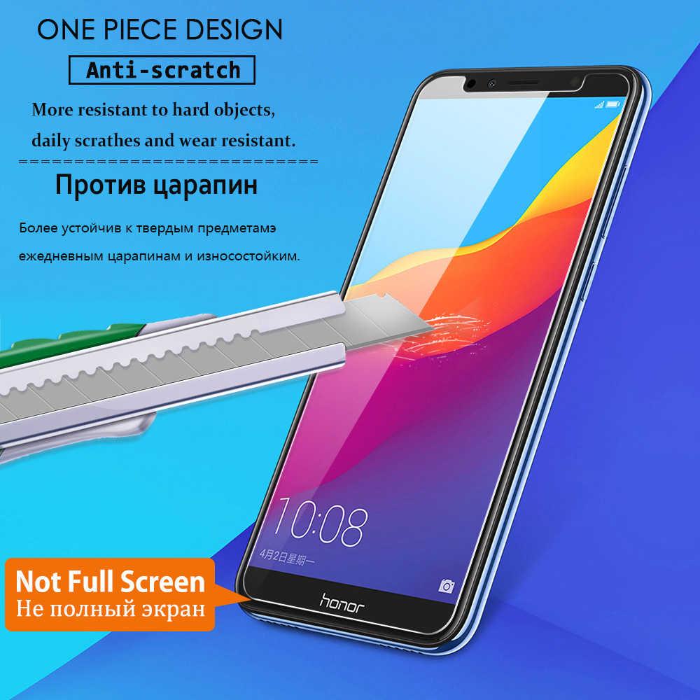 2 個強化ガラスhuawei社の名誉 7 7 × 7s 7c 7aプロ電話スクリーンプロテクター 1080pスマートプラス 2018 保護フィルムガラススマートフォン
