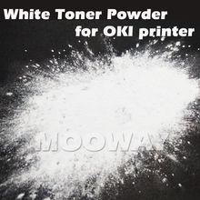 Совместимый белый порошок для электростатической печати для OKI C710 C711WT C910 C911 C830 C831 C941 C920WT C921 ES7411wt ES9420wt белый порошок тонера