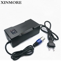 XINMORE Charger 42V 4A Scooter Lithium Li ion Battery Charger Bike AC DC 36V 4A for Switch Bicycle Electric Tool XLB Plug