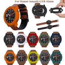 Мода силиконовый защитный чехол для Huami Aamzfit ГТП 47мм часы ТПУ мягкий полного покрытия запасная пленка чехол протектор