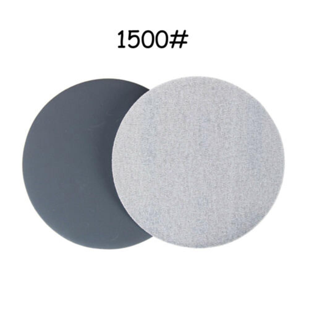 30pcs 2 50mm Wet Dry Sanding Pad Discs 240-10000 Grit Hook Loop Mixed Sandpaper