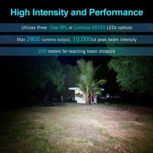 Image 5 - Lumintop FW21 21700 トリプル LED 懐中電灯テールスイッチ Anduril ファームウェア 2800 ルーメン EDC 懐中電灯