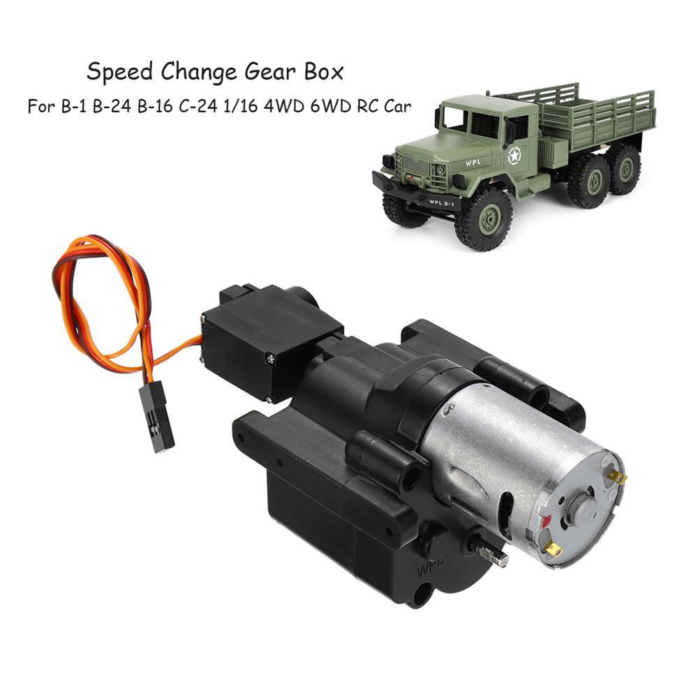 Metal Gearbox Speed Change Upgrade Accessories for WPL B36 C24 B14 B16 B36