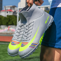 Mannen Voetbalschoenen Voetbal Schoenplaten Laarzen Lange Spikes Tf Spikes Enkel Hoge Top Sneakers Zachte Indoor Turf Futsal Voetbal Schoenen mannen|Voetbalschoenen|   -