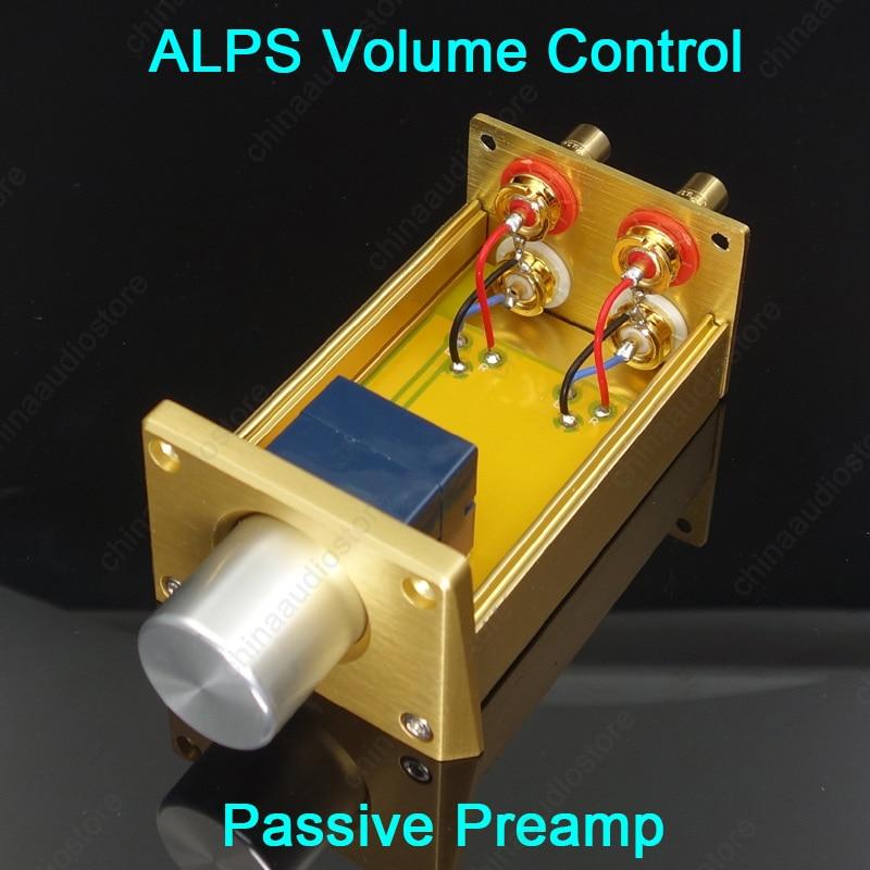 ALPS RK27 RK16 Пассивный предусилитель, потенциометр громкости для усилителя мощности, усилитель для наушников