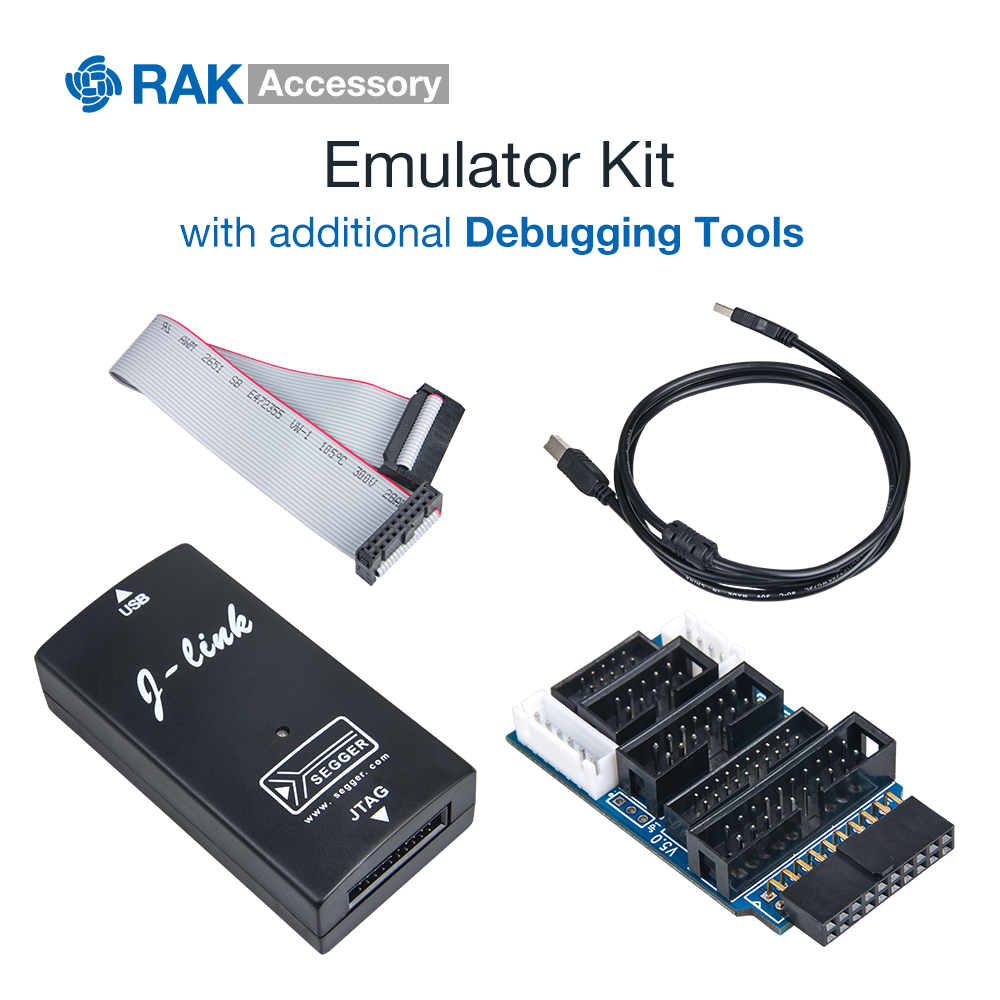 JLINK V9 Emulator Kit Simulator With Convert Board USB Cable AMR Emulator Debugging Tools Support JTAG/Cortex/STM32 Black Q071