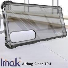 Imak airbag caso para sony xperia 1 iii resistência à queda tpu macio silicone claro transparente capa
