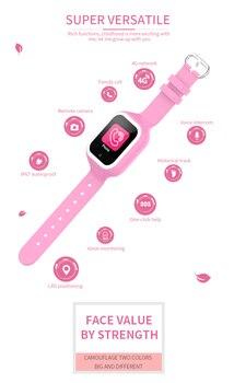Детские смарт-часы Wonlex KT21 3