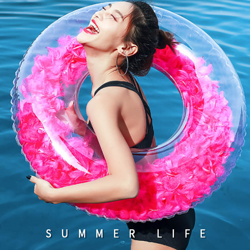 Inflatable Swimming Ring Giant Pool Float Toy Circle Beach Sea Party Inflatable Mattress Water Adult Summer Swim Circle Float