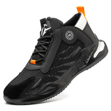 Work-Boots Safety-Shoes Steel-Toe Outdoor Indestructible Men's New Anti-Smash And Comfortable