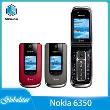Nokia 6350 Refurbished WCDMA/GSM 2mp Mobile-Phone Unlocked Original with 2G Flod