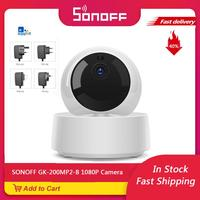 SONOFF GK-200MP2-B 1080P HD Mini Wifi Camera Smart Wireless IP Camera 360 IR Night Vision Baby Monitor Outdoor Security Camera