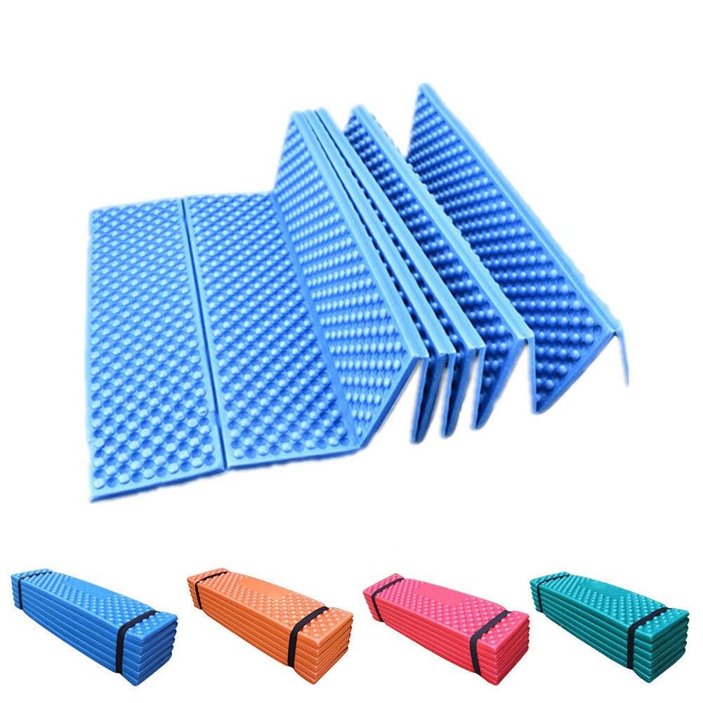 190*57cm Camping Mat Ultralight Foam Picnic Mat Sofa Seat Folding Beach Tent Picnic Mat Sleeping Pad Waterproof Outdoor Mattress