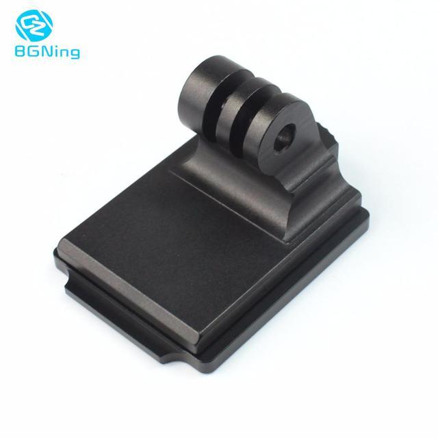 BGNing kask aluminiowy stały uchwyt na GOPRO Max 9 8 7 dla AKASO EK7000 dla Insta360 dla Osmo kamera akcji i płyta montażowa NVG