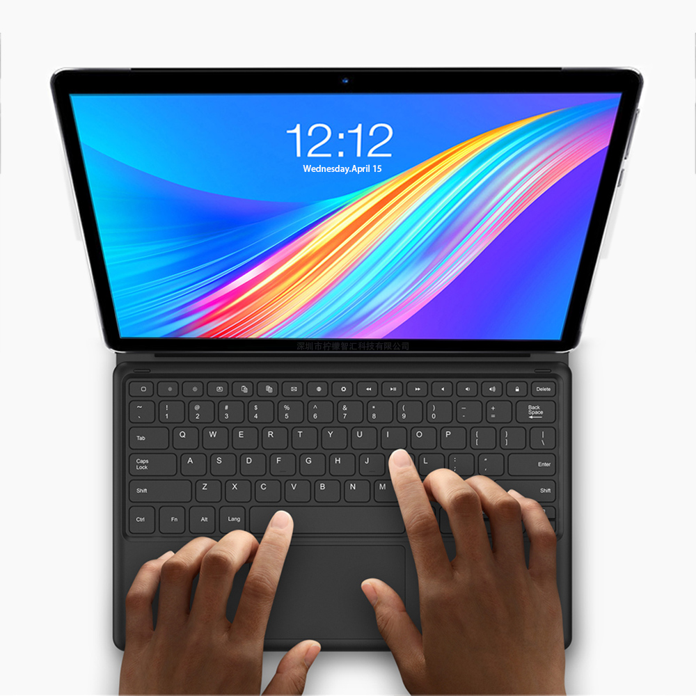 11.6 Inch Tablet 2 In 1 Android Laptop Tablet With Keyboard Ultrabook Type-C MT6797 X20 10 Cores 4G Tablet GPS 1920*1080 Screen