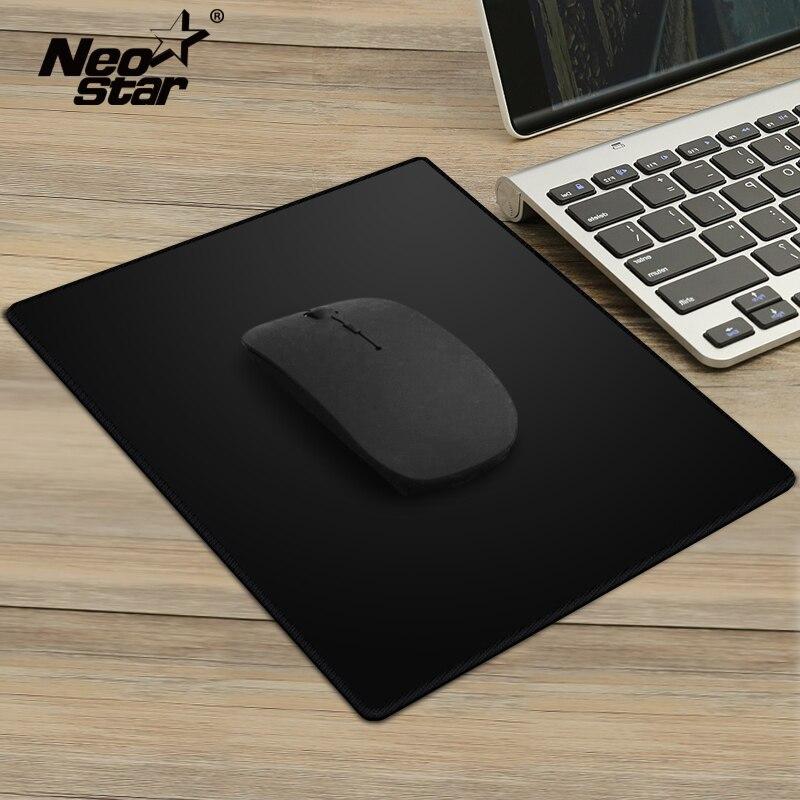 Universal Anti-Slip Mouse Pad Black Slim Square Mouse Pad Mat Mousepad Mini Gaming Mice For Macbook/PC /Laptop/Tablet